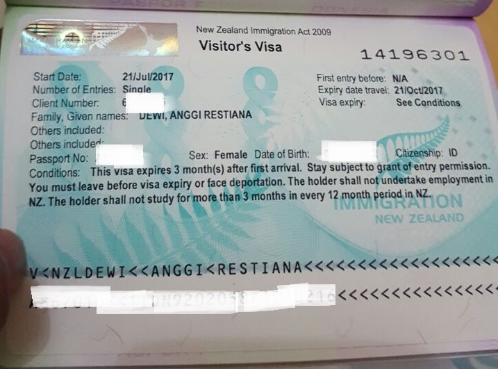 Deg Degan Nya Mengurus Visa New Zealand Travelanggi